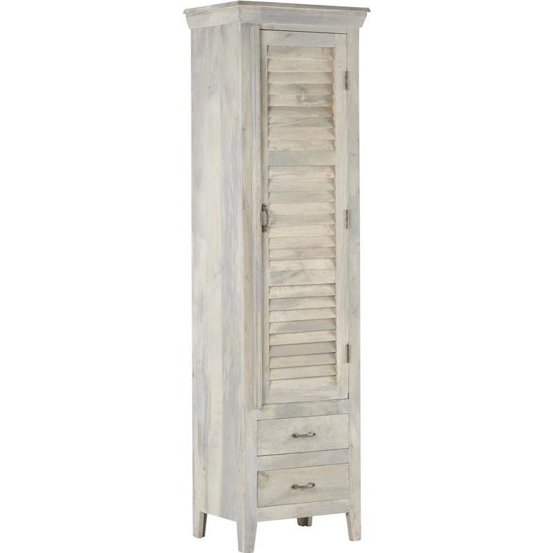 armoire colonne martigues hanjel en manguier trendy homes. Black Bedroom Furniture Sets. Home Design Ideas