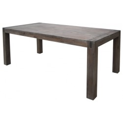 Table de repas en acacia massif lave 200x100x77cm STACEY - RV Design