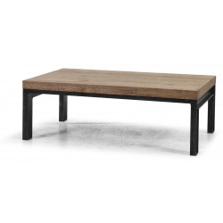 Table basse rectangulaire en chêne massif Danmark RV Design
