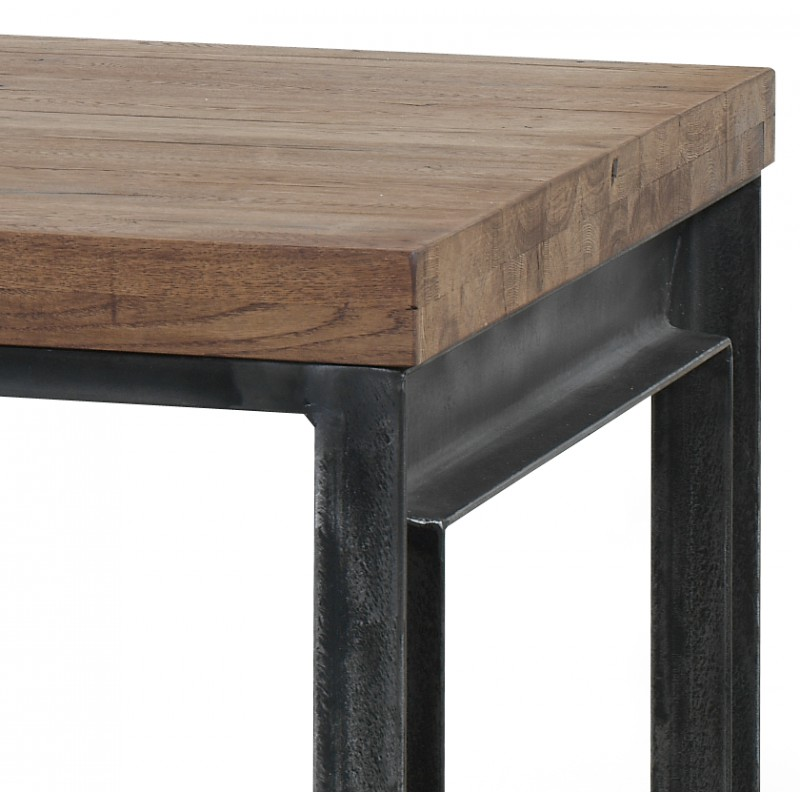 Table basse en ch ne massif 135x75x45cm danmark rv design trendy homes - Table basse en chene ...