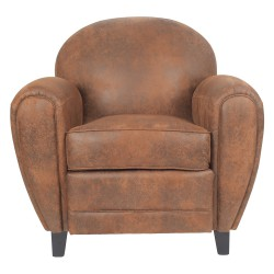 Fauteuil club microbibre