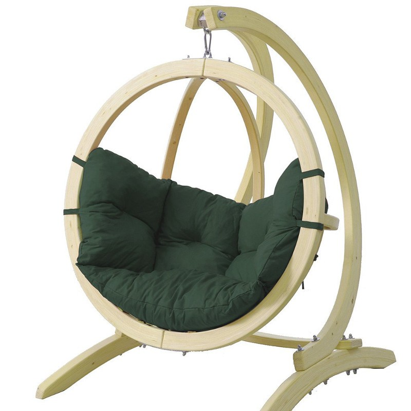 fauteuil suspendu pour enfant en bois globo vert amazonas trendy homes. Black Bedroom Furniture Sets. Home Design Ideas